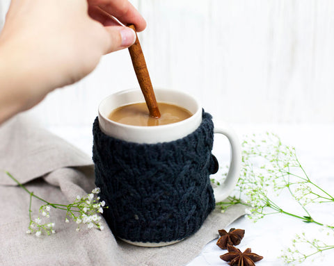 Liver supporting chai tea latte recipe with milk thistle