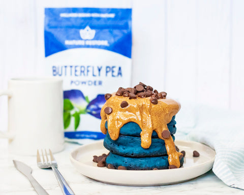 Nature Restore Butterfly Pea Pancake Recipe