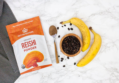 nature restore reishi powder immune boosting recipe