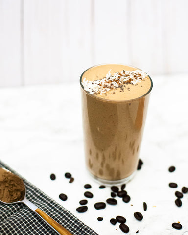 Vegan No Sugar Added Blended Coffee