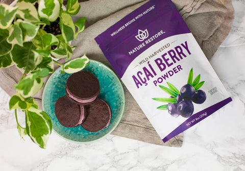 Nature Restore Wild Harvested Acai Berry Powder
