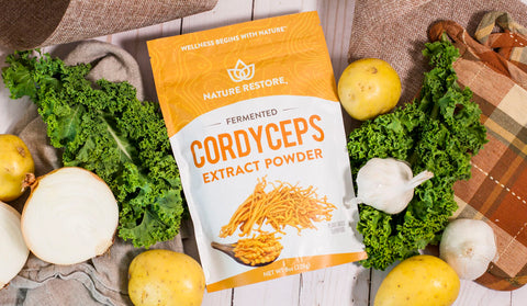 Nature Restore Cordyceps Recipe and Uses