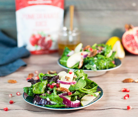 Easy healthy salad with Nature Restore Pomegranate Powder Recipe