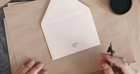 valentines day romantic ideas - writing notes