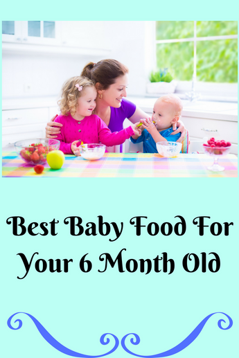Best Baby Foods for Your 6 Month Old