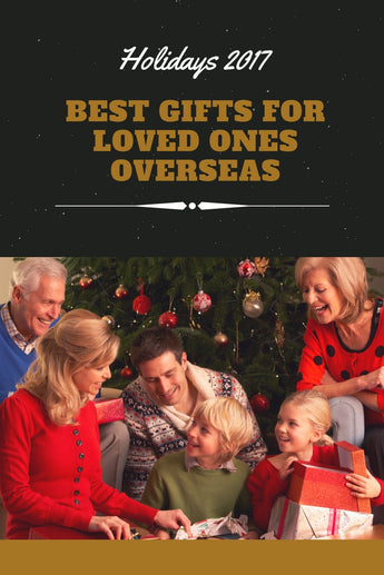 Best Christmas Gifts for Loved Ones Abroad