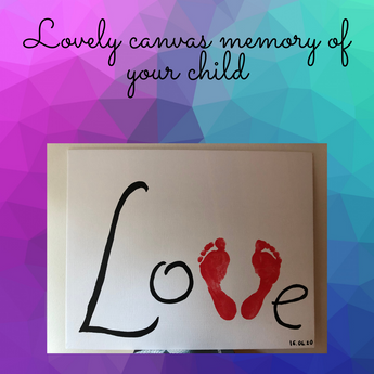 Lovely Canvas Memory of Your Child