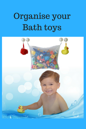 Organize Baby's Bathroom with Smart Bath Toys Storage