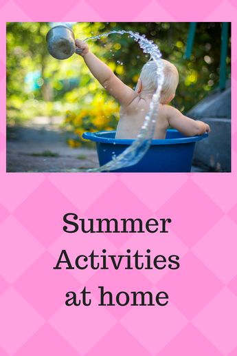 Fun Summer Activities for Kids to Try at Home