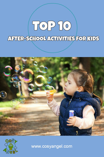10 After School Activities to Keep Kids Happy