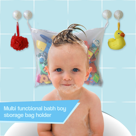Cosy Angel Baby Bath Toy Organiser for Children's Bath Toys Storage