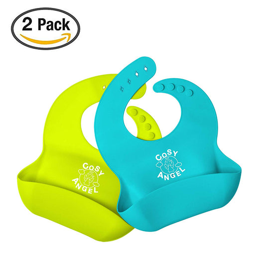 Comfortable and Soft Touch Waterproof Silicone Bibs