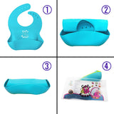 Cosy Angel Comfortable and Soft Touch Waterproof Silicone Bibs