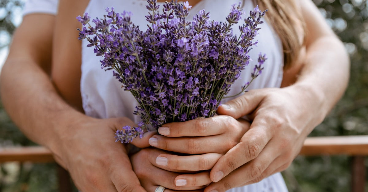Valentine's Day FLower essential oils for romance