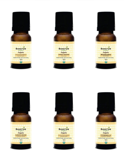 Organic Essential Oils Gift Box