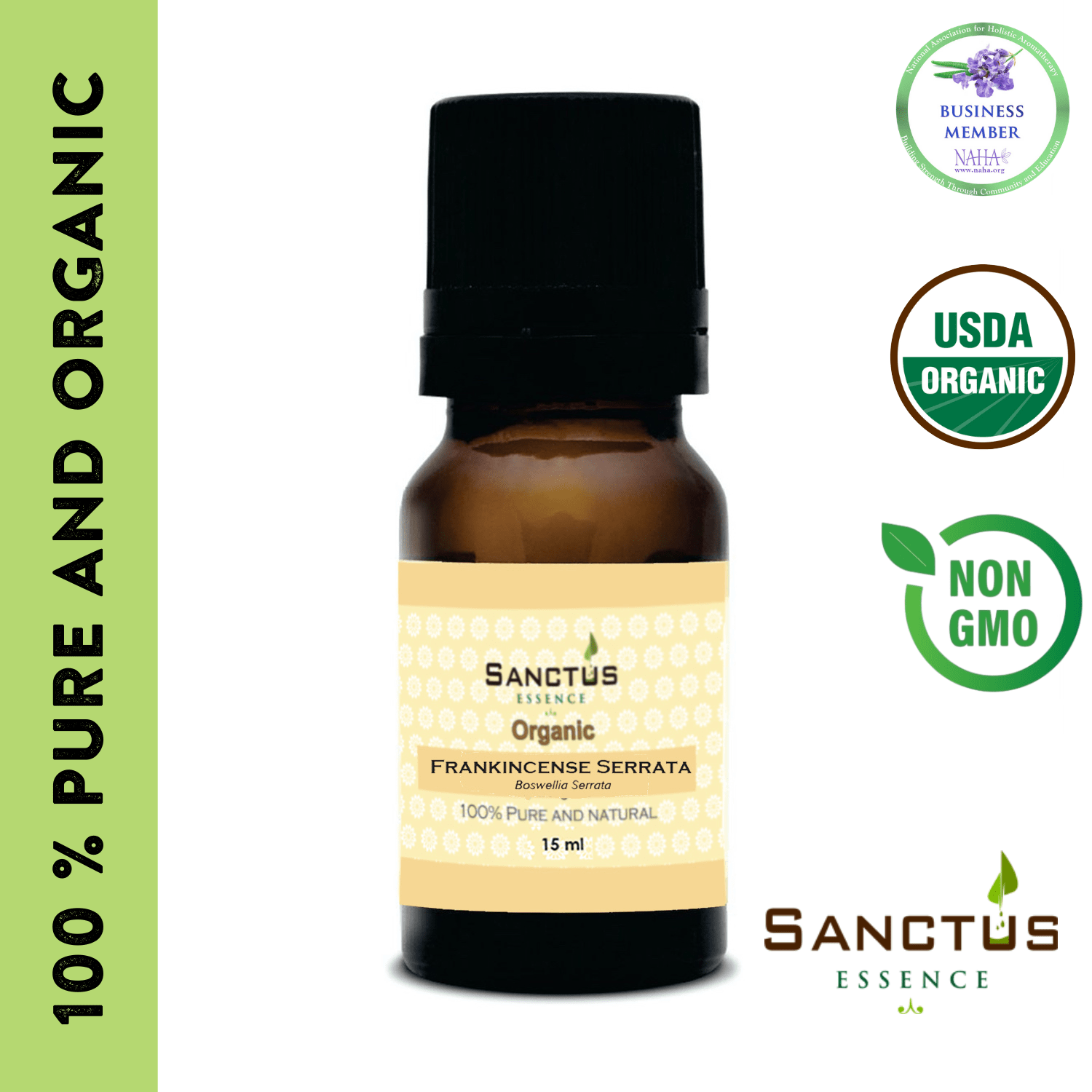 Organic Frankincense Serrata Oil