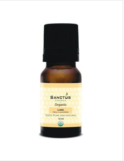 Organic Lime Oil - Sanctus Essence