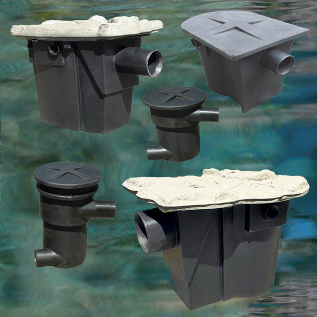 Easy to Clean Pond Skimmers and Pre-Filters