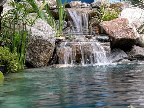A Hybrid Pond is easier to clean and maintain than a water garden pond.