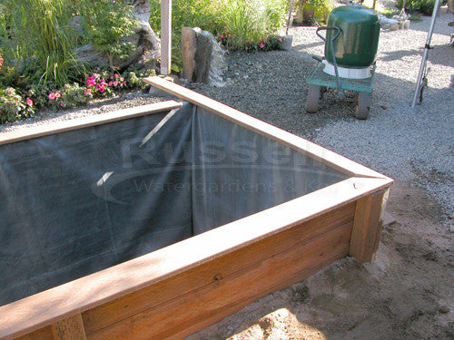 How to build a koi pond 39