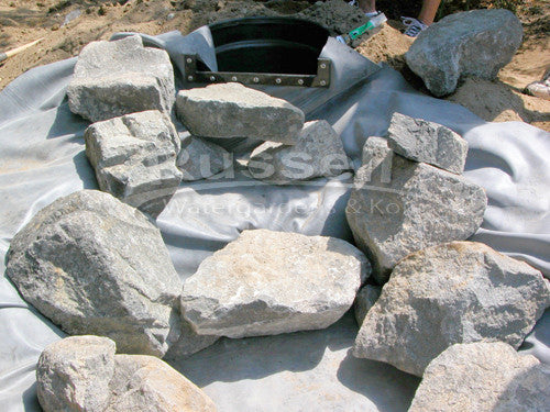 How to build a pondless waterfall 50