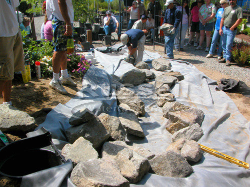 How to build a pondless waterfall 51