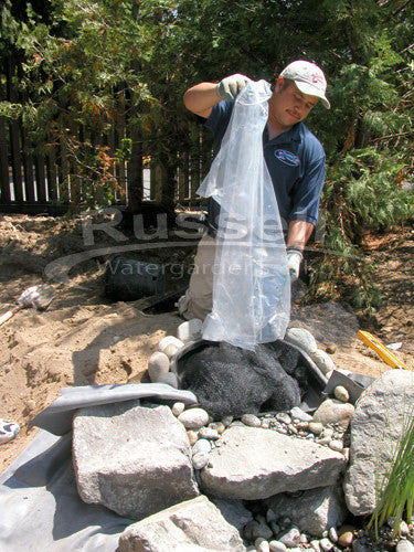 How to build a pondless waterfall 54