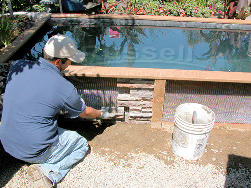 How to build a koi pond 49