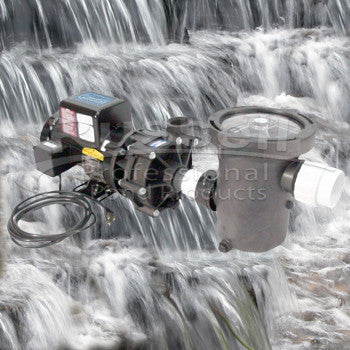 Ultimate medium pondless waterfall kit with choice of C-3600-B external pump