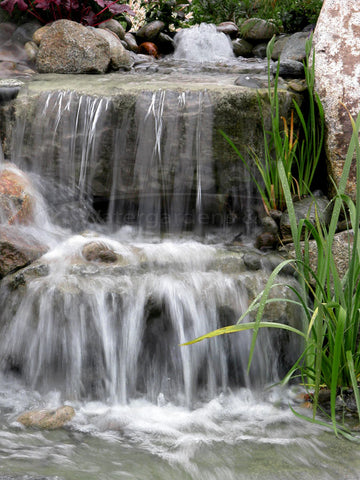 Dolphin™ Hydro Vortex large waterfall filter lets you create beautiful waterfalls.