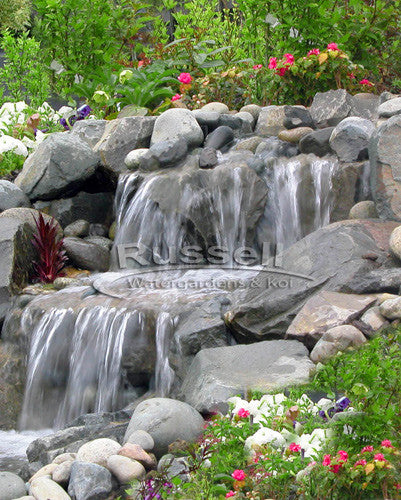 Marlin Series Ultimate medium pondless waterfall kit