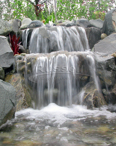 Dolphin Series Ultimate Large Pondless Waterfall and Pool Kit