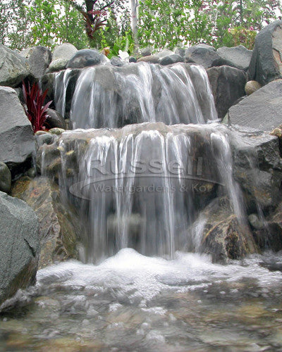 Marlin Series Ultimate pondless waterfall and pool kit