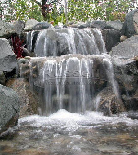 Ahi series ultimate small pondless waterfall kit easy to clean Small waterfall kit