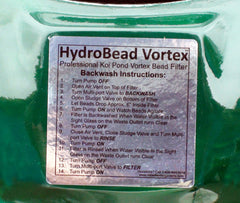 Extra features on the HBV-21 bead filter