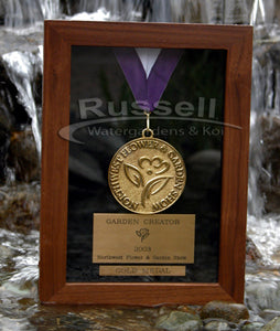 Russell Watergardens & Koi has a history of winning awards.