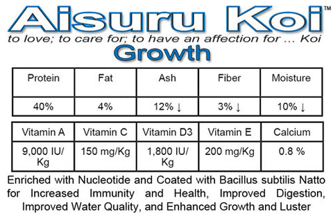 Aisuru Koi™ Growth Koi Food