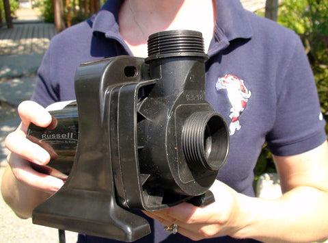 HM-2000 hybrid pump can be used as a submersible or in-line pump