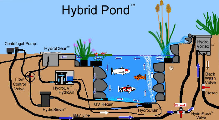 How to build a Hybrid Pond 3
