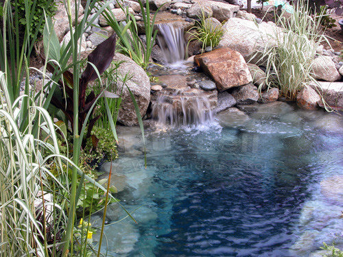 Hydro shade blue pond tint beautiful blue pond water for Koi holding pool