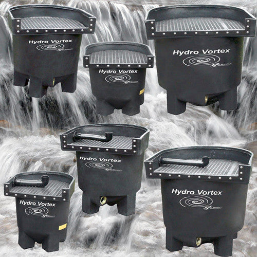 Hydro Vortex backwashable waterfall filters