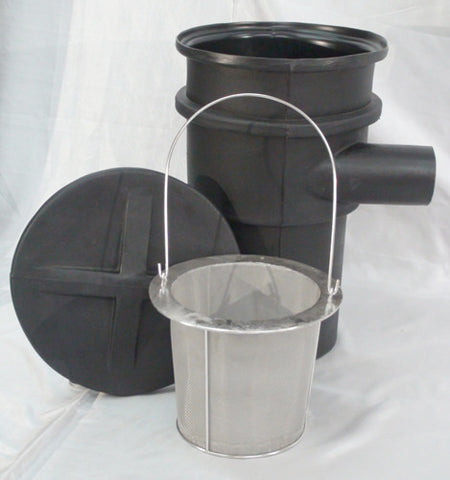 HydroSieve-PF compact pond sieve bottom drain and pondless prefilter