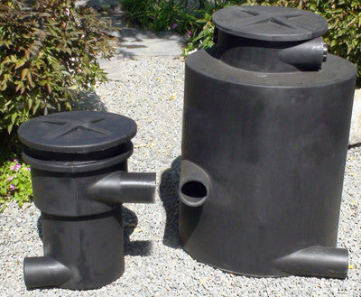 Hydro Sieve and Hydro Chamber of the Ultimate pondless waterfall kit