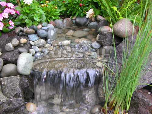 How to build a pondless waterfall 61