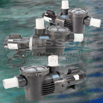 External pond pumps 1 2 and 3 in out 2 100 gph for Large pond pumps