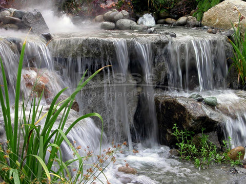 Dolphin Hydro Vortex™ large waterfall filters let you built beautiful pondless waterfalls.