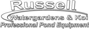 Russell Watergardens & Koi is your number one choice for innovative pond products and pond supplies.