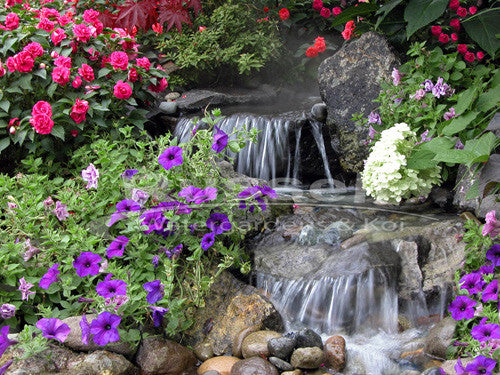 Ultimate Pondless Waterfall kits make beautiful waterfalls that are easy to maintain