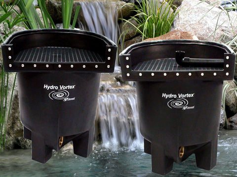 Marlin Hydro Vortex™ medium waterfall filters with your choice of backwash options