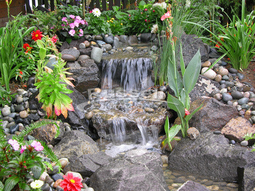 Pond Waterfall Plans Diagram - Home Wiring Diagrams on